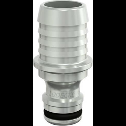 Radsport BLAUE SERIE T-Steckverbindung L-Form mit Stecknippel Stecknippel 10mm Schlauch Schrauben & Verschlüsse